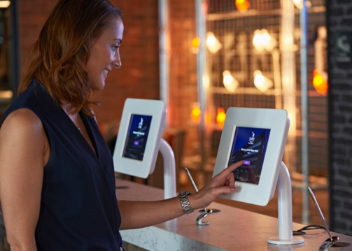 Digital kiosks in hotels in the future